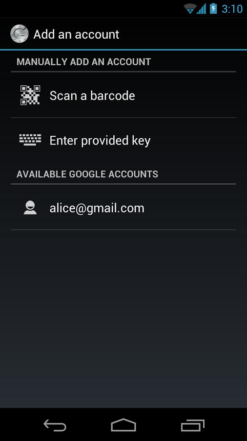 Google Authenticator 2